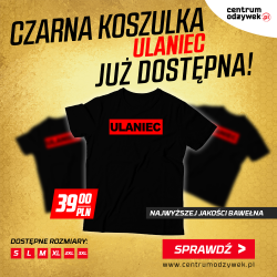 "Real Pharm T-Shirt Koszulka  ""Ulaniec"" Black"