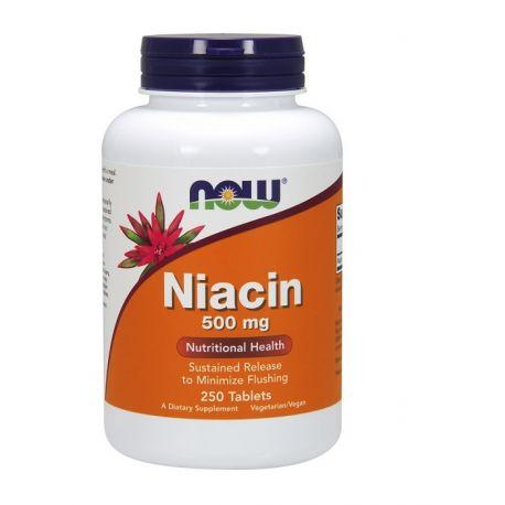 Now Foods NIACIN 500mg 250tab