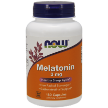 Now Foods Melatonin 180 cap