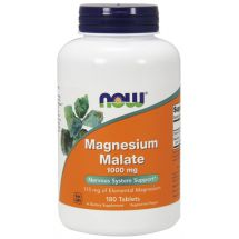 Now Foods Magnesium Malate 180 tab.