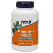Now Foods Magnesium Citrate pure 227g