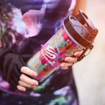 Smart Shaker 750ml - Flower Power