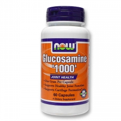 Now Foods Glucosamine '1000' HCL - 180 kapsułek.