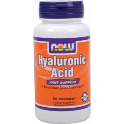 Now Foods Hyaluronic Acid 100 mg - 60 Vcaps
