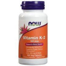 Now Foods Vitamim K2 100mcg 100Vcaps.