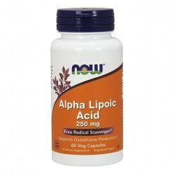 Now Foods Alpha Lipolic Acid 250mg 60 Vcaps.