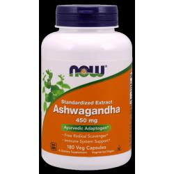 Now Foods Ashwagandha 450mg 180 Vcaps.