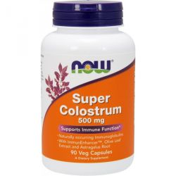 Now Foods Super Colostrum 500mg 90 vcaps.