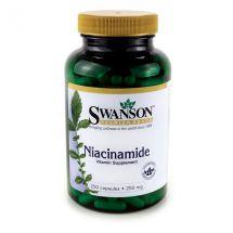 Swanson Niacin / Niacinamide 250caps.