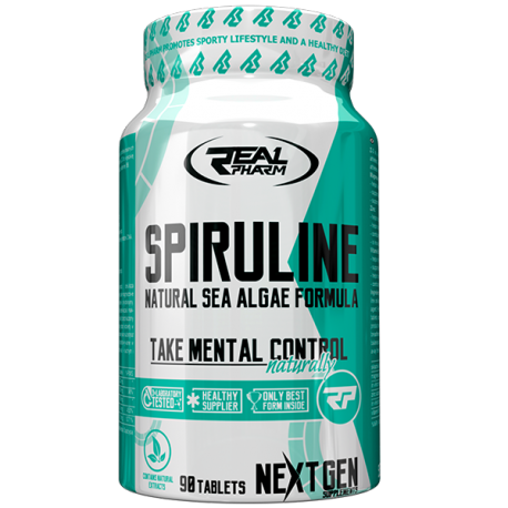 Real Pharm Spiruline 90 tabl