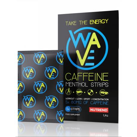 Nutrend Caffeine Menthol Strips 5x80mg