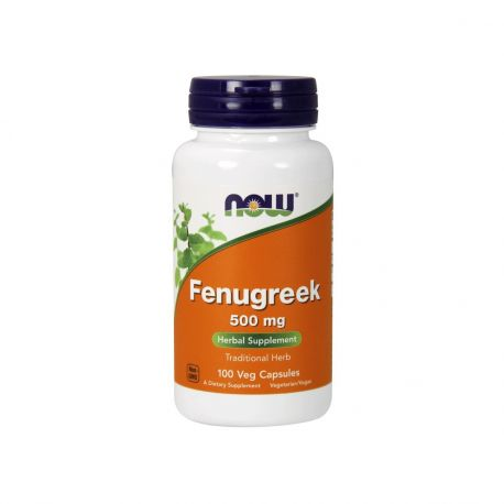 Now Foods Fenugreek 500mg 100vcaps