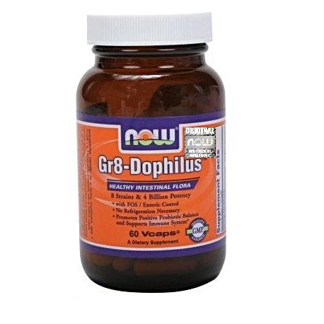 Now Foods Gr 8 Dophilus 60 kaps.