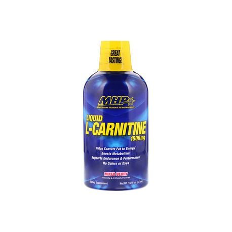 Mhp Liquid L-Carnitine 1500mg -473ml