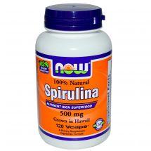 Now Foods Spirulina 500 mg 100% Natural - 200 Tabs