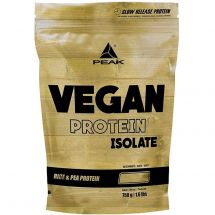 Peak Vegan Protein Isolate 750g Vanilla