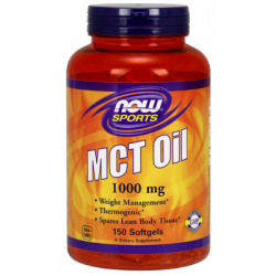 Now Foods MCT Oil 1000mcg 120 cap.