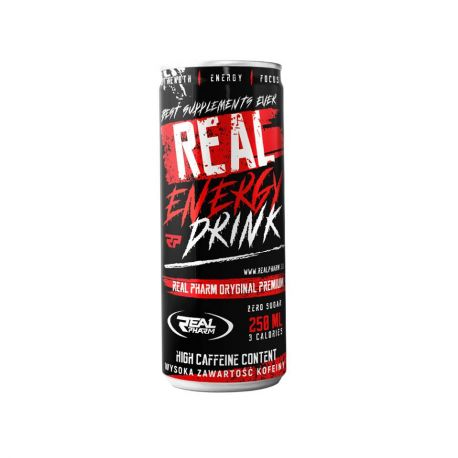 Real Pharm Real Energy Drink Zero Sugar 250ml