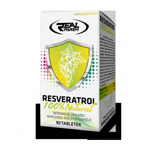 Real Pharm RESVERATROL 200mg 90tab