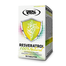 Real Pharm RESVERATROL 200mg 90tab
