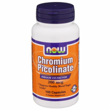 NOW CHROMIUM PICOLINATE 100cap