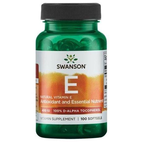 Swanson Vitamina E 400IU 100 softgels