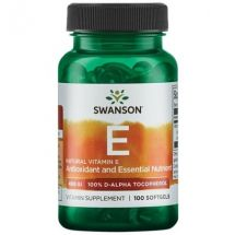 Swanson Vitamina E 400IU 100 softgels