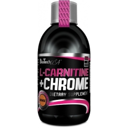 Bio Tech USA L-Carnitine+Chrom Liquid - 500 ml