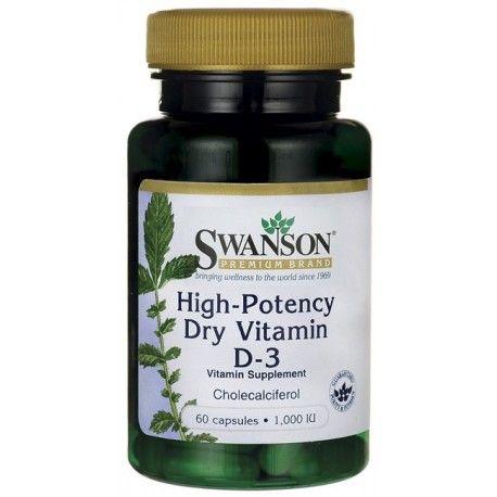 Swanson D3 1000IU 60 kaps