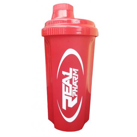 .Real Pharm Shaker 500ml Czerwony
