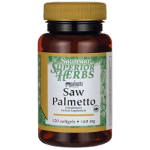Swanson SAW Palmetto extract 160mg 120sgels