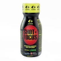 4Sport Nut Shot+ Focus 40ml