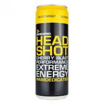 Dedicated Headshot Drink 355ml Cherry blast