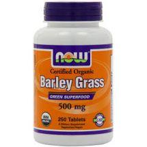 Now Foods Barley Grass 500mg ORG 250tab