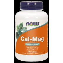 Now Foods CAl-MAG 500/250mg 100 tabs