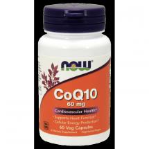 Now Foods COQ10 60mg 60caps