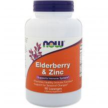 Now Foods Elderberry & Zinc 30 kaps.