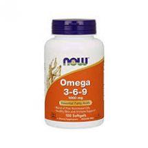 Now Foods Omega 3-6-9 1000mg 100softgels