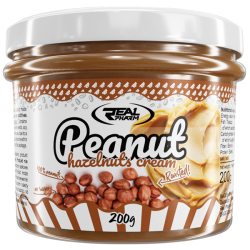 REAL PHARM PEANUT HAZELNUT CREAM 200G