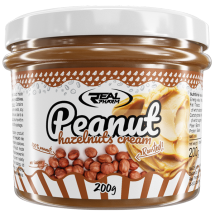 REAL PHARM PENAUT HAZELNUT CREAM 200G