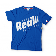 "Real Wear T-shirt ""Sztanga niebieska"""