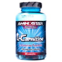 Aminostar L-Carnitine - 80kaps.