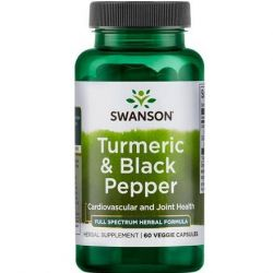 Swanson Full Spectrum Turmeric and Black Pepper 60