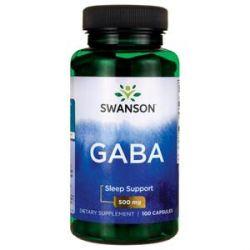 Swanson GABA 500mg 100caps