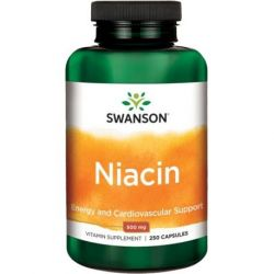 Swanson niacin 500 mg 250 caps
