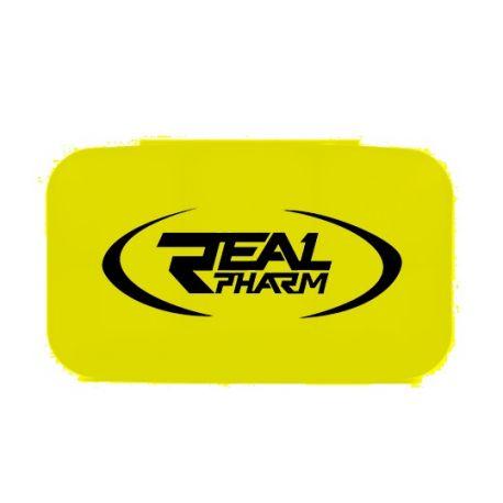 .Real Pharm Pillbox Yellow - Pudełko na tabletki