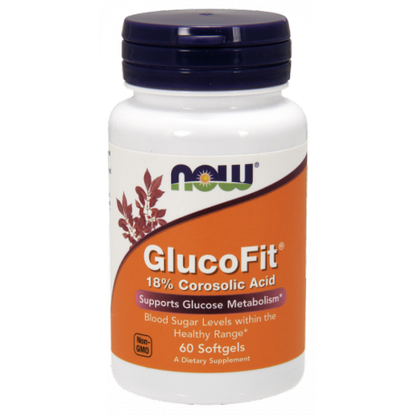 Now Foods Gluco Fit 60 softgels. (data do 31.01.2020r.)