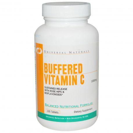 Universal Buffered Vitamin C 100 tabl - 1000mg (data do 31.01.2020r.)