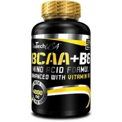 Bio Tech USA BCAA+B6 - 200 tabl