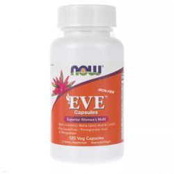 NOW FOODS EVE MULTI VITAMINS 120 Vcaps